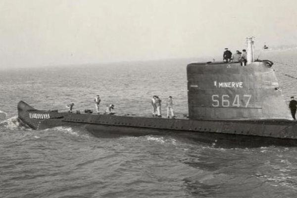 Le sous-marin La Minerve