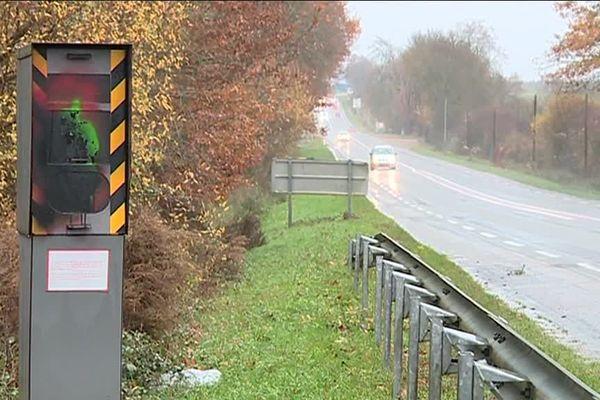 Radar vandalisé en Mayenne, décembre 2018