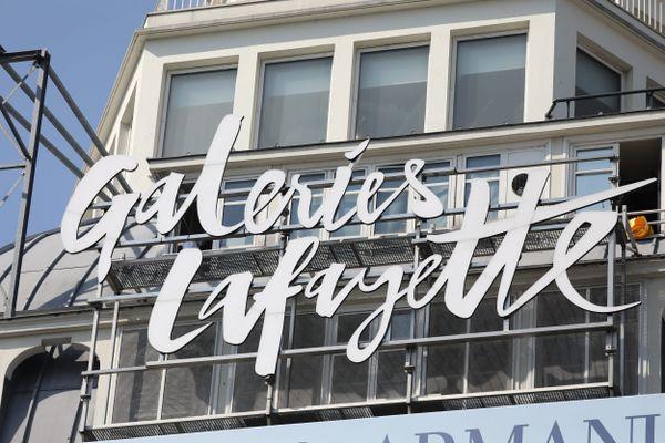 Les Galeries Lafayette à Paris en septembre 2020 (illustration).