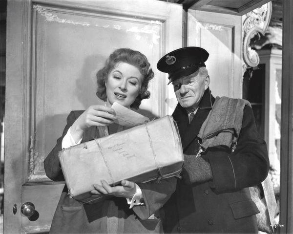 "Greer Garson, Oscar de la meilleur actrice en 1943 pour ""Madame Miniver"""