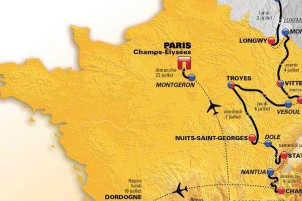 Le Tour de France 2017 ne passera pas dans l'ouest, du tout !