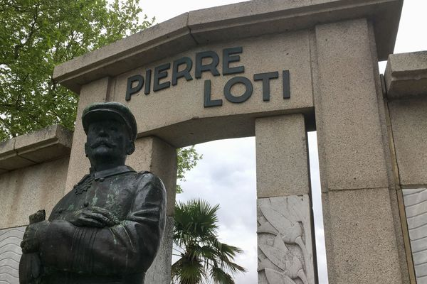 Monument à Pierre Loti à Rochefort (Charente-Maritime)