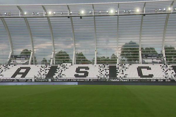 Le stade de la Licorne à Amiens.
