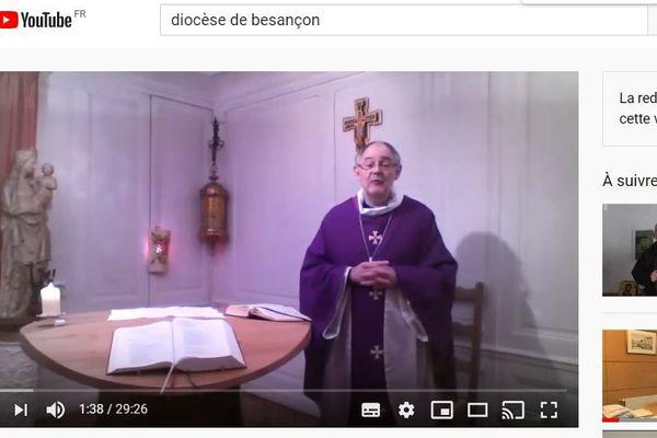 Les offices du Jeudi saint, du Vendredi saint, de la Veillée pascale et du dimanche de Pâques, célébrées par Mgr Bouilleret, seront retransmises en direct sur la chaîne Youtube du diocèse.