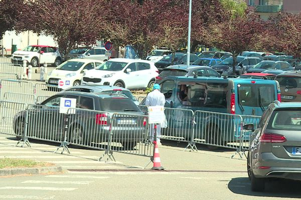 Drive test à Laval, en Mayenne