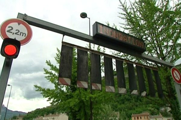 Les voies sur berges sont fermées à Grenoble