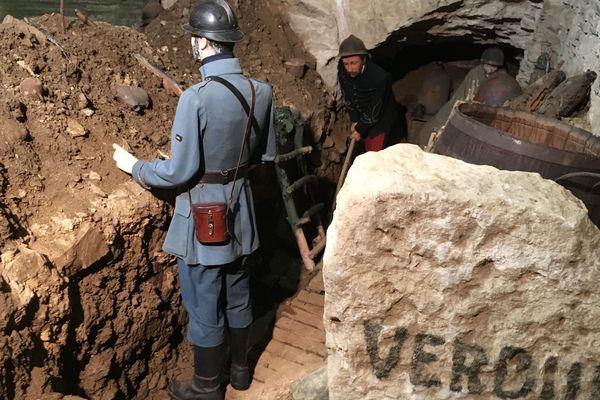 Des scènes de tranchée reconstituent l'enfer des soldats