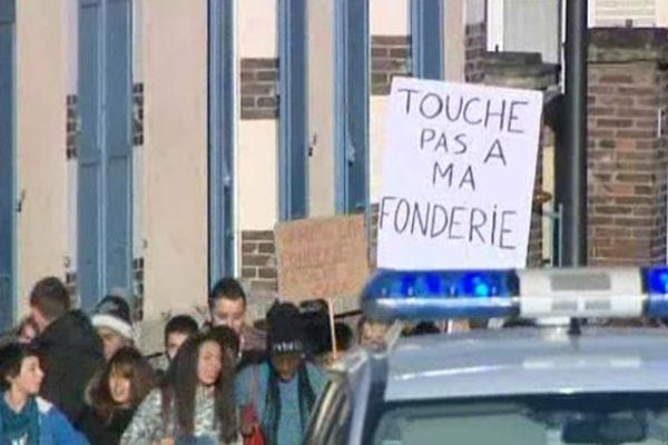 Les lycéens de Jehan-de-Beauce manifestent à Chartres