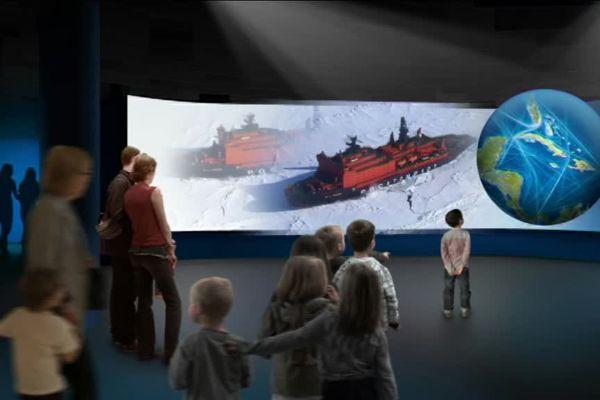 D'ici 2019, la scénographie de la Cité de la mer va être entièrement remodelée