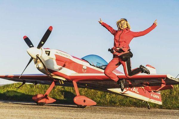 Salomé Gilles est devenue pilote en 2014. Elle a commencé la voltige deux ans plus tard.