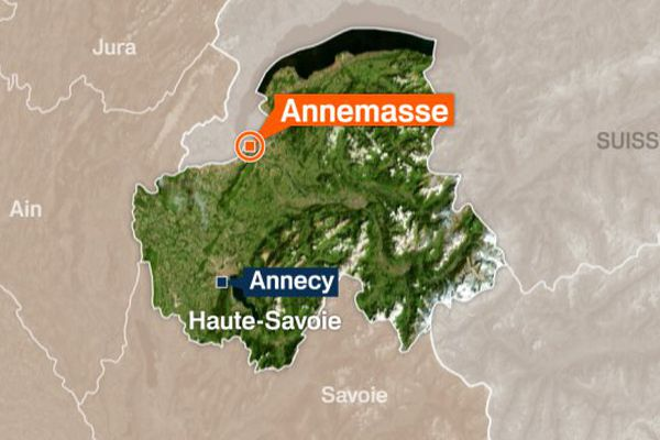 Carte Annemasse