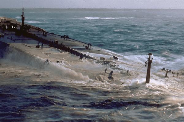 Le naufrage de l'Amoco Cadiz
