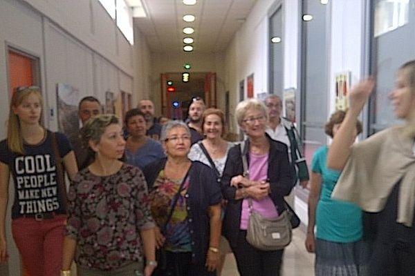 Dans les couloirs de France 3 Provence Alpes, à Marseille