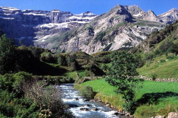 Pyrénées : le cirque de Gavarnie où le jeune homme a chuté mortellement.