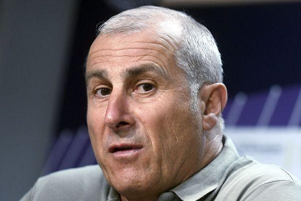 """""""On n'a pas montré la maitrise individuelle, collective et émotionnelle pour ressortir nos ballons"""", a déclaré l'entraîneur du TFC, Alain Casanova."""