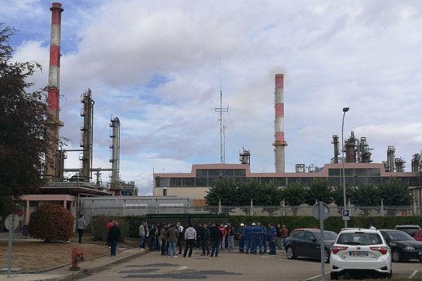 Inquiétude des salariés de la raffinerie