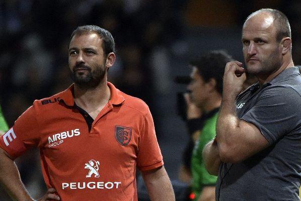 William Servat et Jean-Baptiste Elissalde ont prolongé leur contrat pour 2 ans avec le Stade Toulousain.