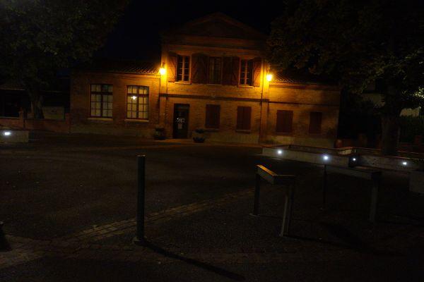 A Auzeville-Tolosane, près de Toulouse, les lampadaires s'éteignent désormais à 23 heures. Archives.