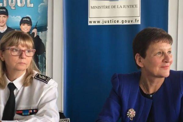 La procureure de la République Marie-Madeleine Alliot a donné une conférence de presse ce jeudi 30 novembre.