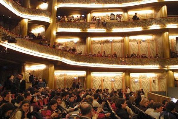 Le théâtre du Capitole à Toulouse
