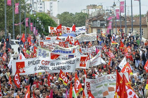 Plusieurs milliers de personnes ont défilé le 10 septembre dernier contre la réforme des retraites et pour les salaires