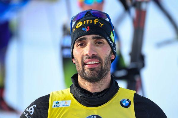 Martin Fourcade n'a pas l'habitude de mâcher ses mots et affectionne les déclarations caustiques (ici le 14 mars 2020 à la Coupe du Monde de Biathlon en Finlande).