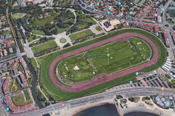 Le projet d'extension du parc Borély jusqu'à la mer supprimera l'hippodrome