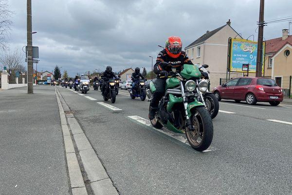 590 motos selon la FFMC ont défilé au Mans ce samedi après-midi.