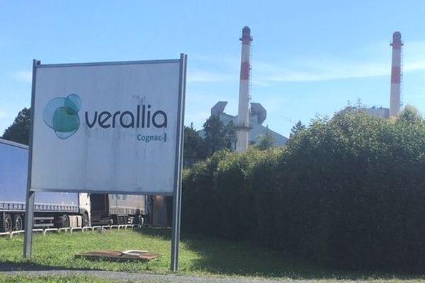 Le site Verallia de Chateaubernard (Charente).