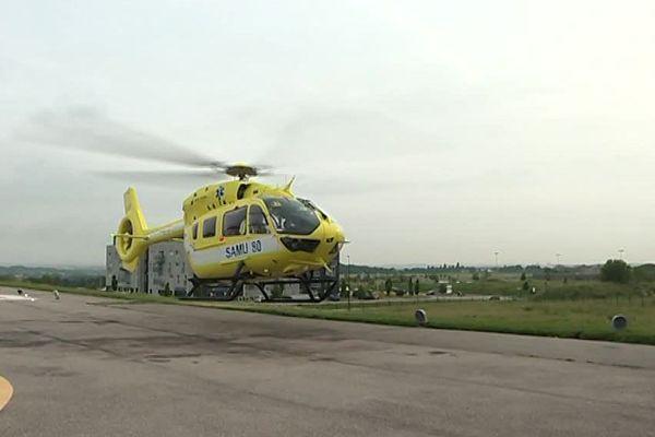 Cet hélicoptère nouvelle génération peut voler jusqu'à 250 km/h / Somme, le 4 juin 2018