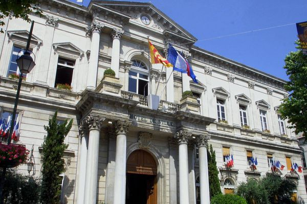 Hotel de Ville d'Avignon