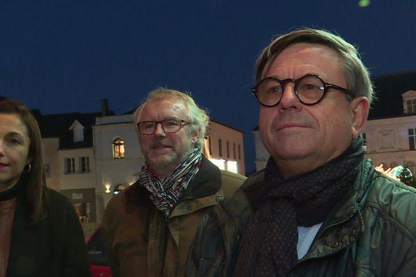 Didier Pillon (à droite) a été désigné pour mener la liste de centre-droit à Laval.