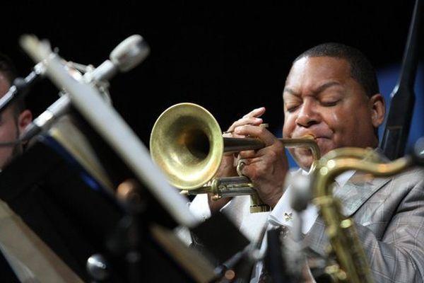 Le trompettiste Wynton Marsalis, parrain du festival