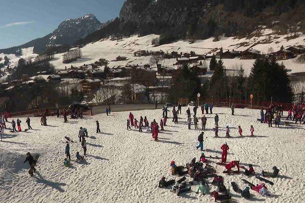 Station du Grand-Bornand en Haute-Savoie