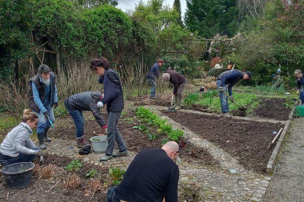 A Thermes-Magnoac dans les Hautes-Pyrénées les jardins de la poterie Hillen ont dû faire face à plusieurs tempêtes depuis décembre dernier. Une cinquantaine d'arbres sont tombés, dont certaines espèces rares.