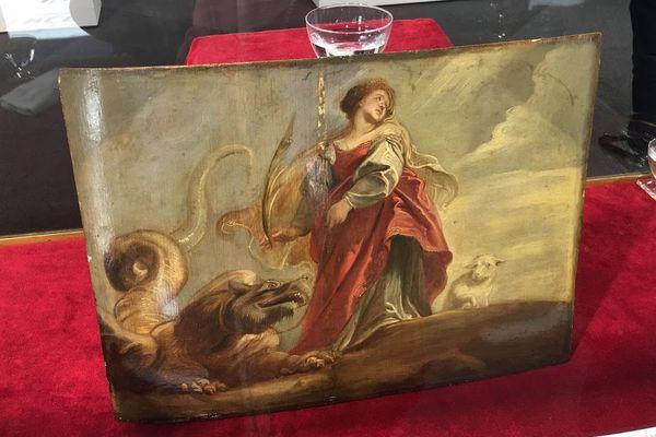 """Ce """"trésor caché"""", signé Rubens, appartenait à une famille lilloise."""