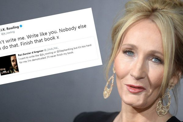 J. K. Rowling, l'auteure de Harry Potter, en novembre 2016.