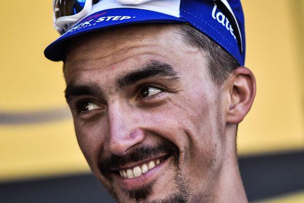 L'Auvergnat Julian Alaphilippe (Quick-Step) a enlevé au sprint la 3e étape du Tour de Grande-Bretagne, courue mardi 4 septembre autour de Bristol sur 128 km.