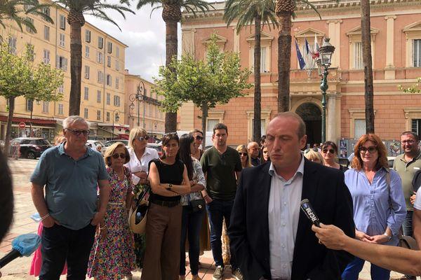 """Laurent Marcangeli, """"Un Soffiu novu"""", se lance seul au second tour des élections territoriales"""