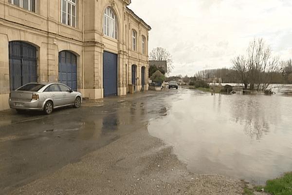 Port-de-Noyer ce vendredi 12 février matin