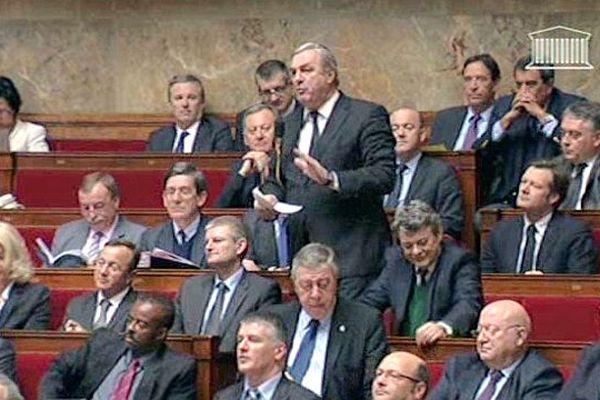 François Sauvadet à l'Assemblée nationale