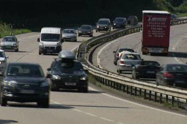 La circulation sur l'autoroute A20 est fluide mais chargée. Prudence si vous devez prendre la route.