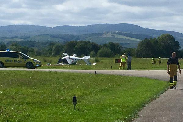 Un petit avion s'est écrasé mercredi 6 septembre en début d'après-midi, à l'aérodrome de Charnay-lès-Mâcon