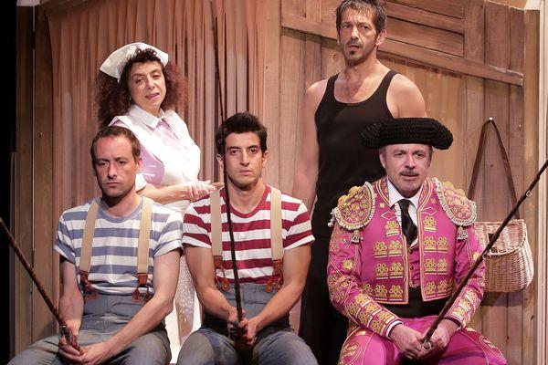 La famille Ortiz au grand complet - Théâtre Rive Gauche Paris 14e