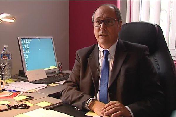 Jean Deguerry, nouveau président du Conseil départemental de l'Ain.