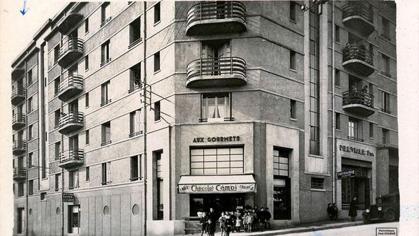La cité Victor Thuillat dans les années 1930