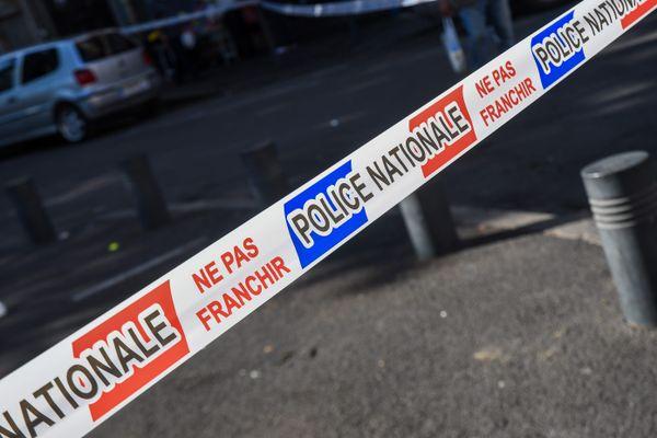 Illustration d'une zone d'enquête de police