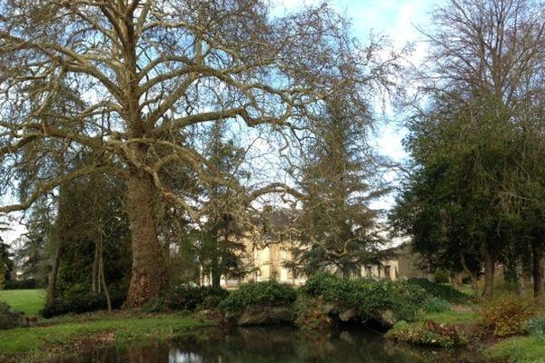 Le château d'Acquigny