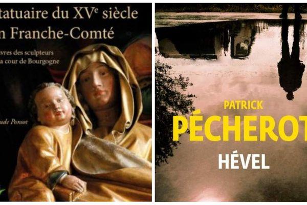 """""""Statuaire du XVe siècle en Franche-Comté"""" de Claude Ponsot et """"Hével"""" de Patrick Pécherot ont été primés."""