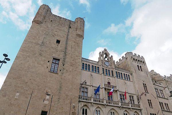 La mairie de Narbonne dans l'Aude. Photo d'illustration.